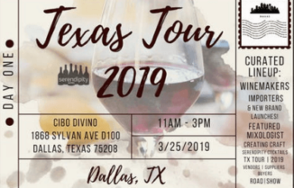 Serendipity Wines Texas Tour 2019 Day 1 – DALLAS