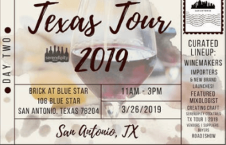 Serendipity Wines Texas Tour 2019 Day 2 – San Antonio
