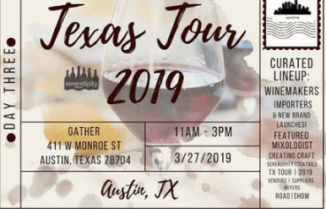 Serendipity Wines Texas Tour 2019 Day 3 – AUSTIN