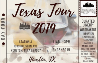 Serendipity Wines Texas Tour 2019 Day 4 – HOUSTON