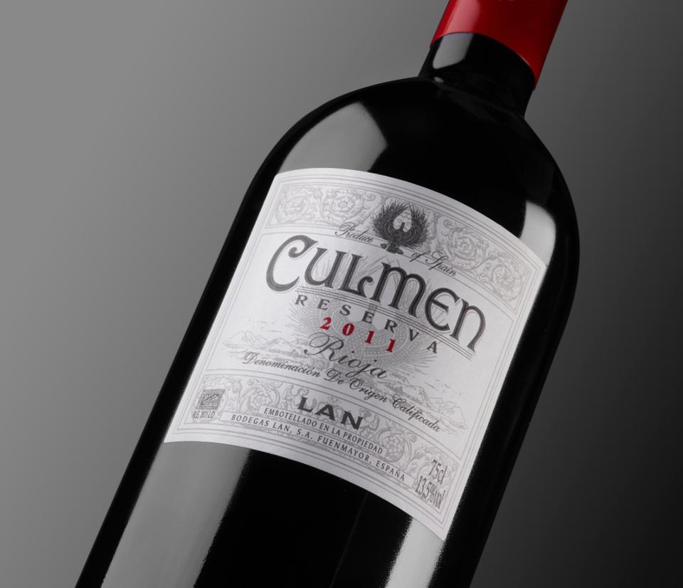 "Bodegas LAN only releases their ""Culmen"" Rioja Reserva in the best vintages. COURTESY OF BODEGAS LAN"